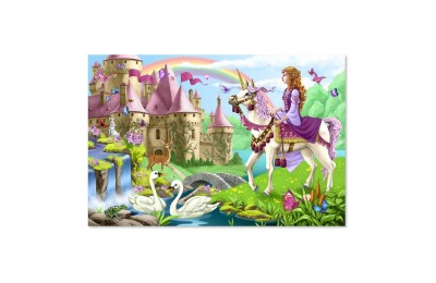 cheap Melissa And Doug Fairy Tale Castle Jumbo Floor Puzzle 24pc competitive reasonable