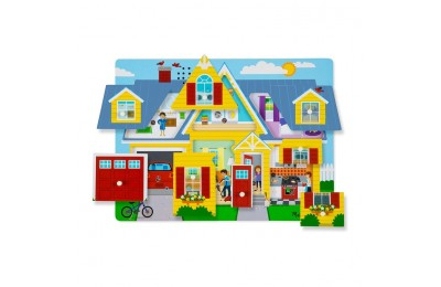 reasonable Melissa & Doug Around the House Sound Puzzle Set - 8pc competitive cheap