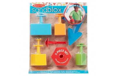 competitive Melissa & Doug Sandblox Sand Shape-and-Mold Tool Set reasonable cheap