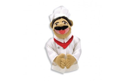 competitive Melissa & Doug Chef Puppet With Detachable Wooden Rod reasonable cheap