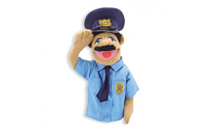 competitive Melissa & Doug Police Officer Puppet With Detachable Wooden Rod reasonable cheap