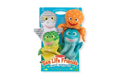 competitive Melissa & Doug Sea Life Friends Hand Puppets reasonable cheap