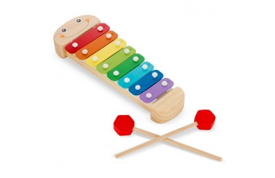 competitive Melissa & Doug Caterpillar Xylophone Musical Toy With Wooden Mallets reasonable cheap