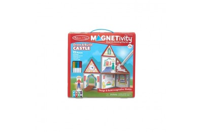 reasonable Melissa & Doug Magnetivity - Draw & Build Castle competitive cheap