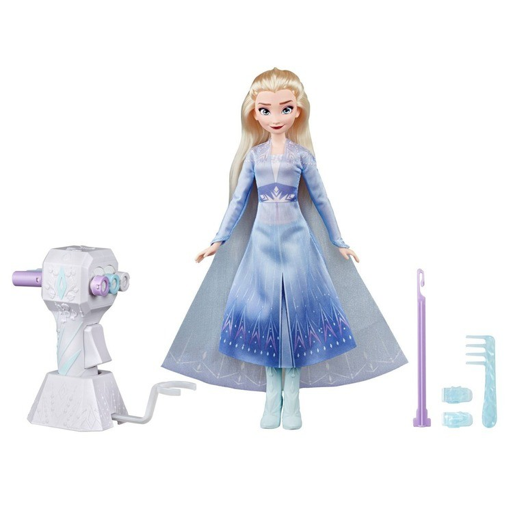 cheap Disney Frozen 2 Sister Styles Elsa Fashion Doll With Extra-Long Blonde Hair, Braiding Tool and Hair Clips competitive reasonable