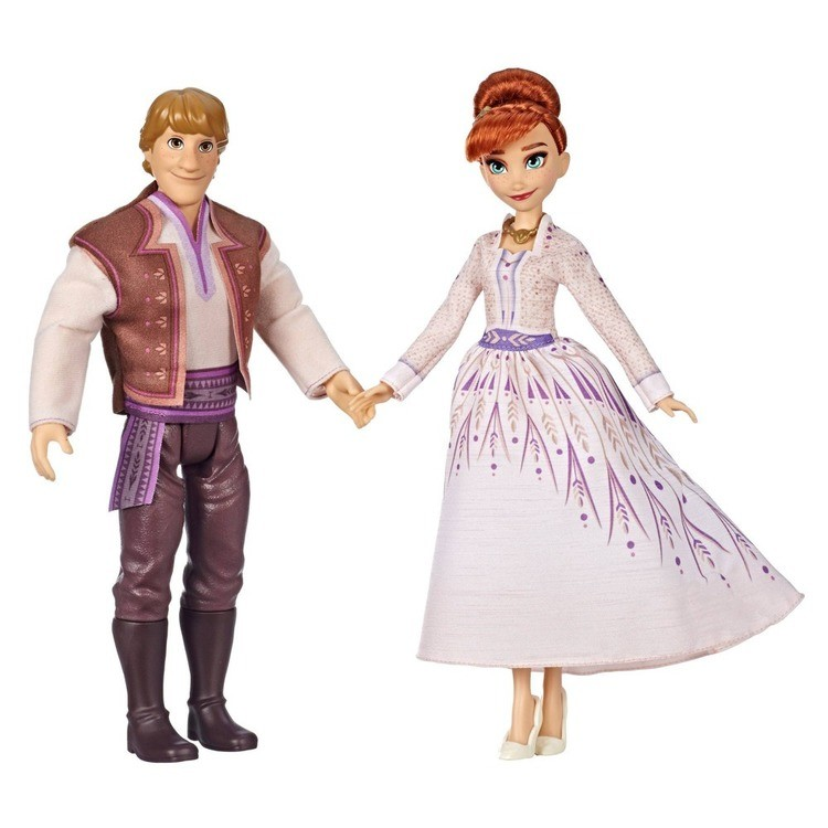 cheap Disney Frozen 2 Anna and Kristoff Fashion Dolls 2pk competitive reasonable