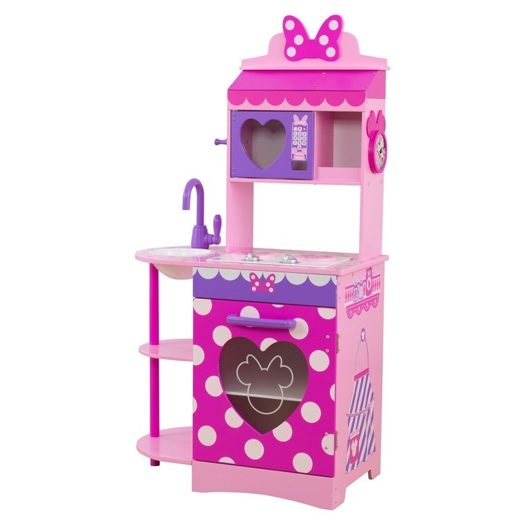 competitive KidKraft Disney Jr. Minnie Mouse Toddler Kitchen cheap reasonable