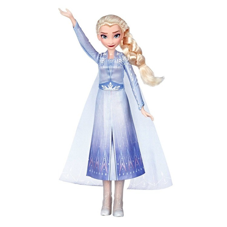reasonable Disney Frozen 2 Singing Elsa Fashion Doll with Music - Blue cheap competitive