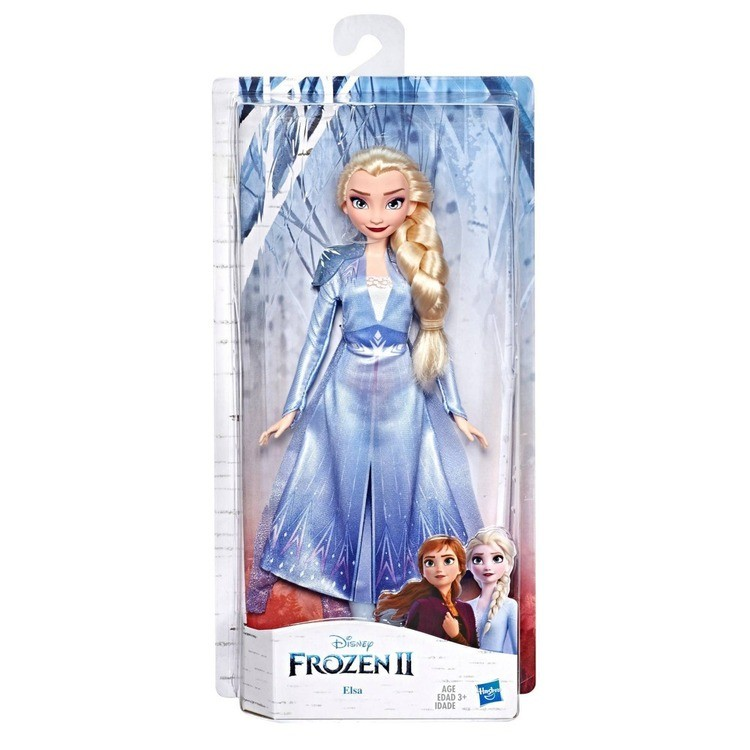 competitive Disney Frozen 2 Elsa Fashion Doll With Long Blonde Hair and Blue Outfit cheap reasonable
