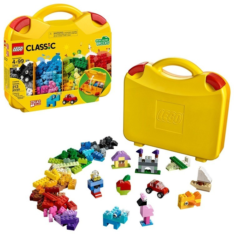 cheap LEGO Classic Creative Suitcase 10713 competitive reasonable