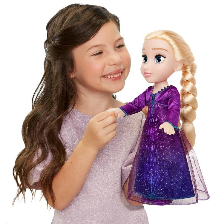 cheap Disney Frozen 2 Into The Unknown Singing Feature Elsa Doll competitive reasonable