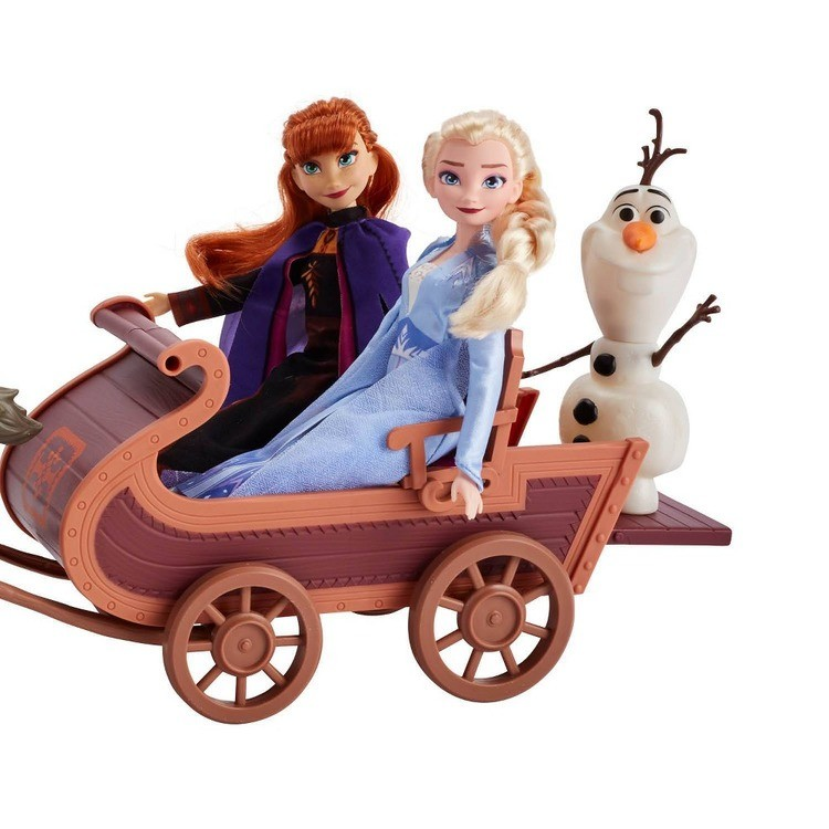 competitive Disney Frozen 2 Sledding Adventures Doll Pack cheap reasonable