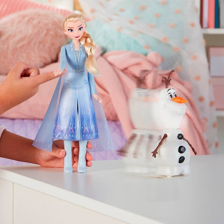 competitive Disney Frozen 2 Talk and Glow Olaf and Elsa Dolls reasonable cheap