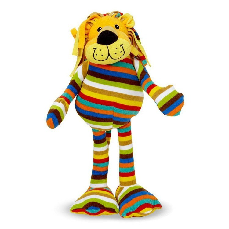 reasonable Melissa & Doug Elvis Lion - Patterned Pal Stuffed Animal cheap competitive