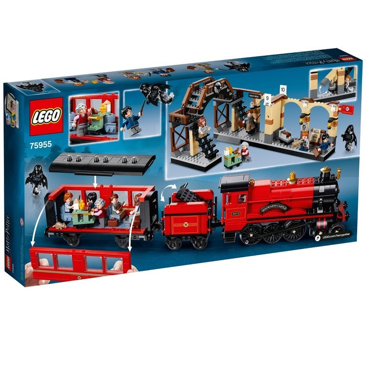 competitive LEGO Harry Potter Hogwarts Express Train Set with Harry Potter Minifigures and Toy Bridge 75955 reasonable cheap