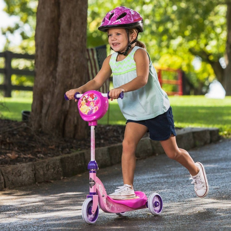 competitive Huffy Disney Princess Secret Storage Scooter, Kids Unisex, Pink reasonable cheap
