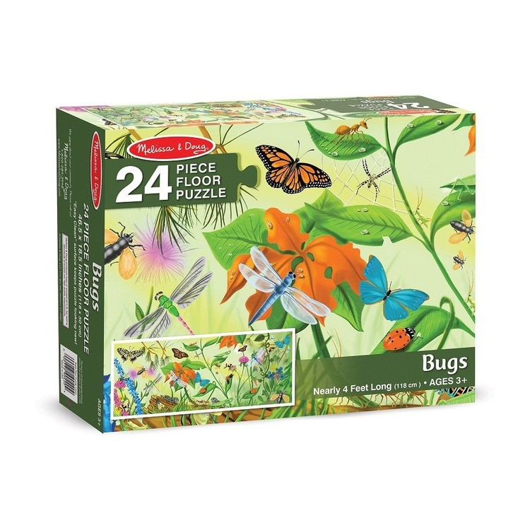 reasonable Melissa And Doug Bugs Jumbo Floor Puzzle 24pc cheap competitive