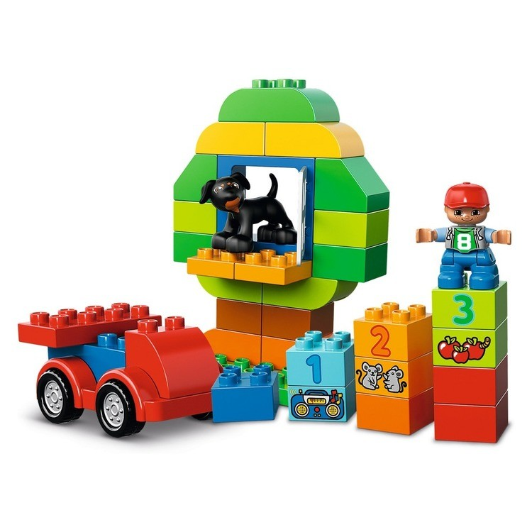 cheap LEGO DUPLO My First All-in-One-Box-of-Fun 10572 reasonable competitive