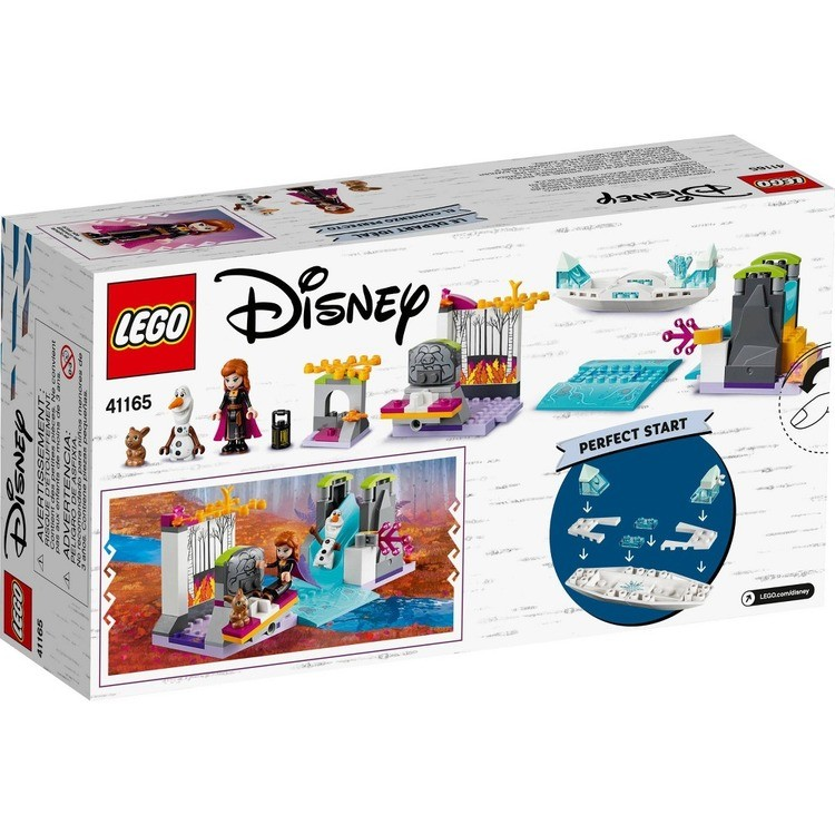 competitive LEGO Disney Princess Frozen 2 Anna's Canoe Expedition 41165 Frozen Adventure Easy Building Kit 108pc reasonable cheap