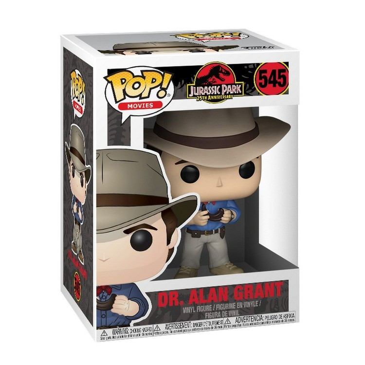 cheap Funko POP! Movies: Jurassic Park 25th Anniversary - Dr. Alan Grant - Minifigure reasonable competitive