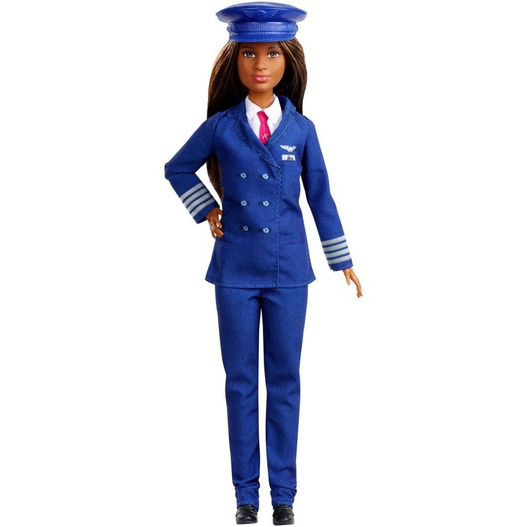 cheap Barbie Careers 60th Anniversary Pilot Doll competitive reasonable