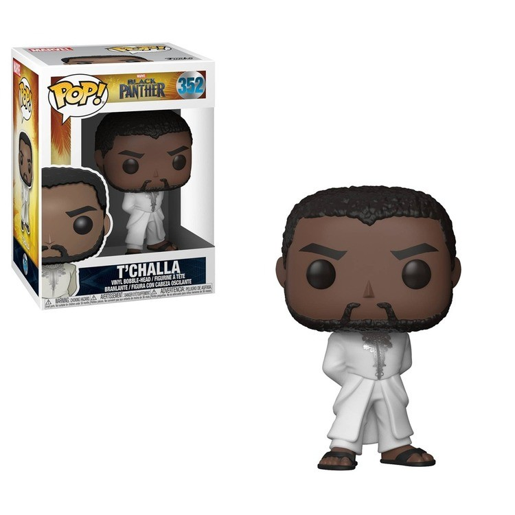 reasonable Funko POP! Marvel: Black Panther - T'Challa in White Robe competitive cheap