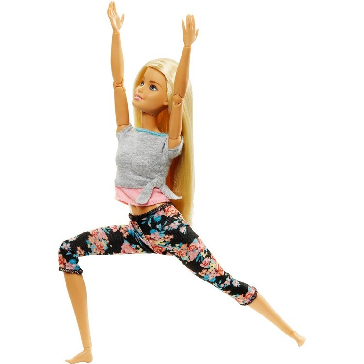 cheap Barbie Made To Move Yoga Doll - Floral Pink reasonable competitive