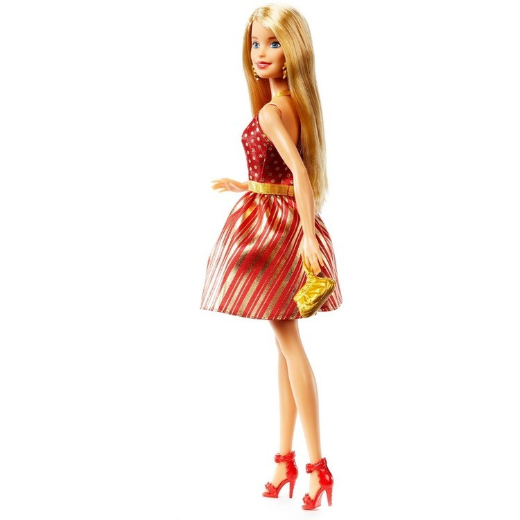 competitive Barbie Holiday Doll, fashion dolls cheap reasonable