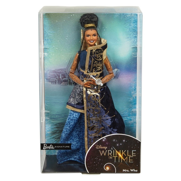 reasonable Disney Barbie Collector A Wrinkle in Time Mrs. Who Doll cheap competitive