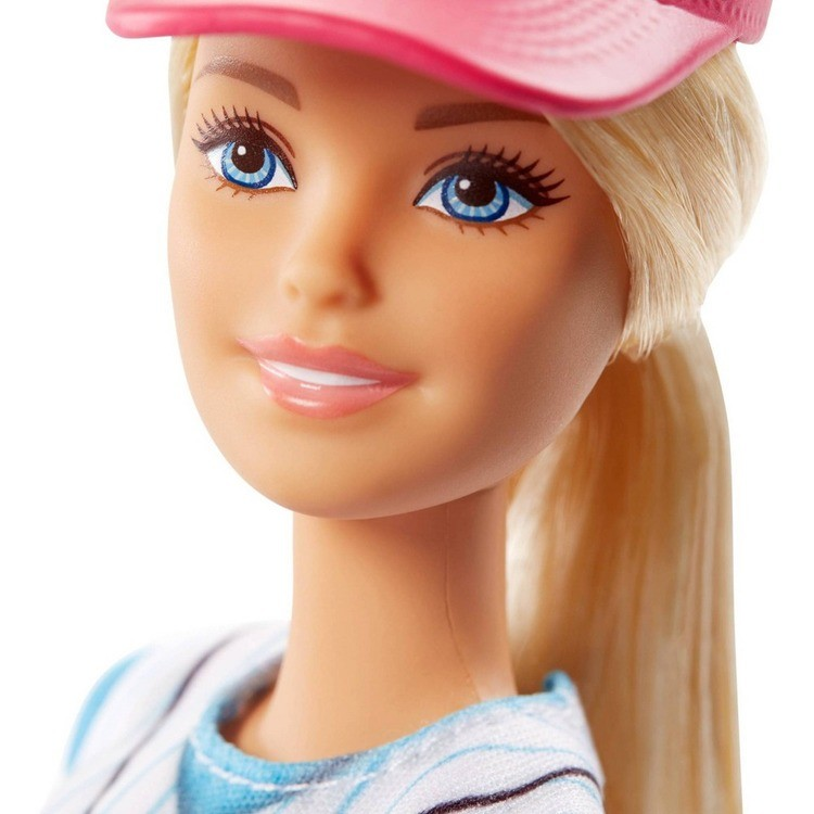 reasonable Barbie Made to Move Baseball Player Doll competitive cheap