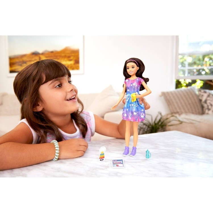 cheap Barbie Skipper Babysitters Inc. Brunette Doll Playset competitive reasonable