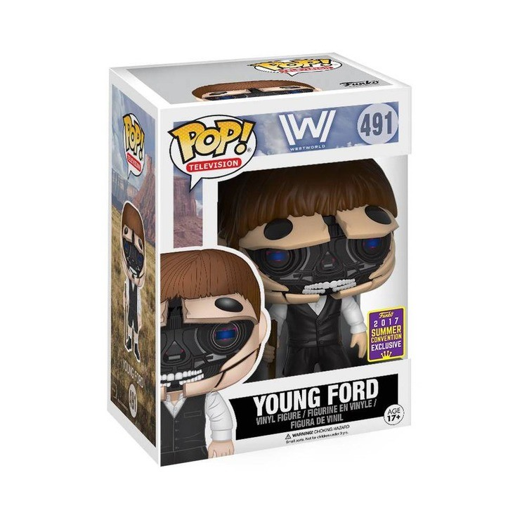 reasonable Funko POP Westworld - Robotic Dr. Ford Host - SDCC competitive cheap