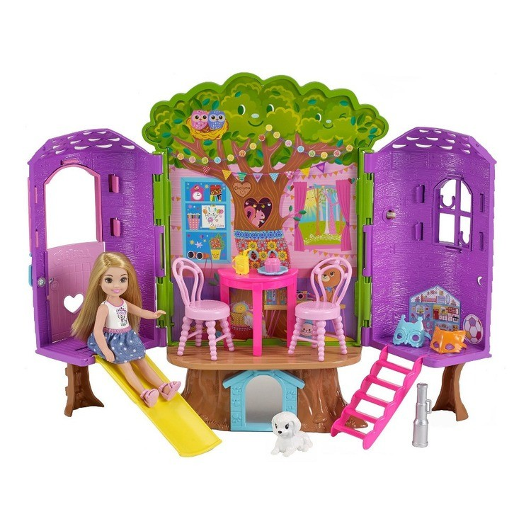 competitive Barbie Chelsea Doll and Treehouse Playset reasonable cheap