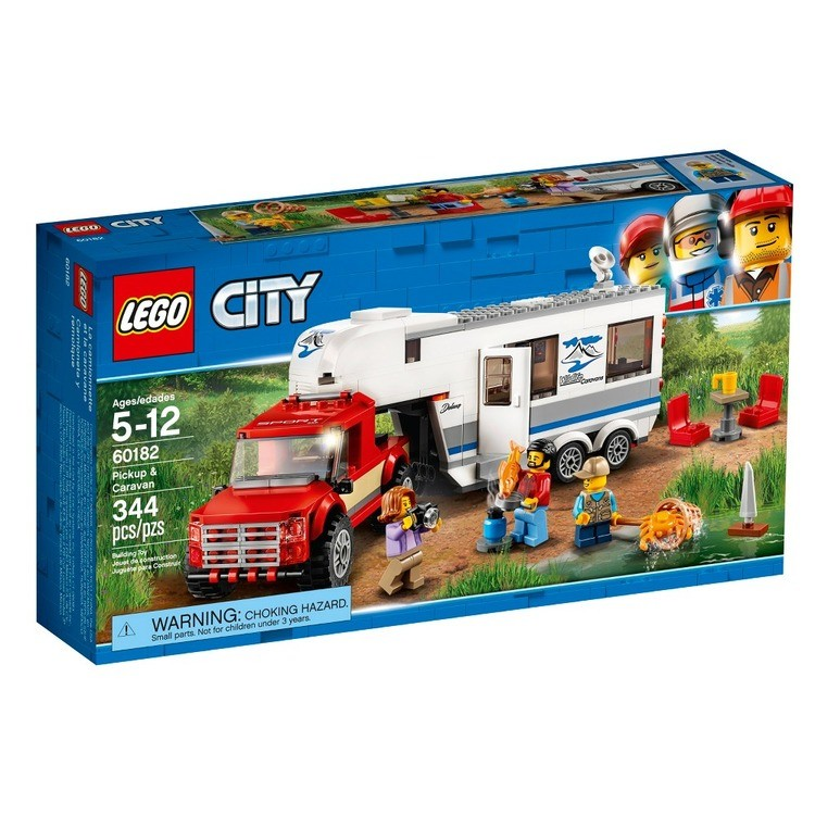 competitive LEGO City Great Vehicles Pickup & Caravan 60182 reasonable cheap