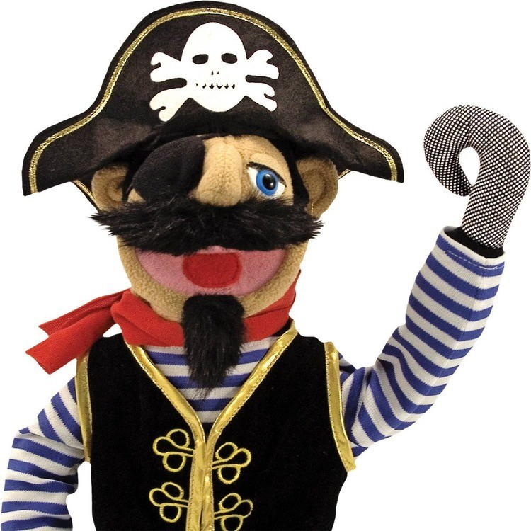 cheap Melissa & Doug Pirate Puppet With Detachable Wooden Rod reasonable competitive