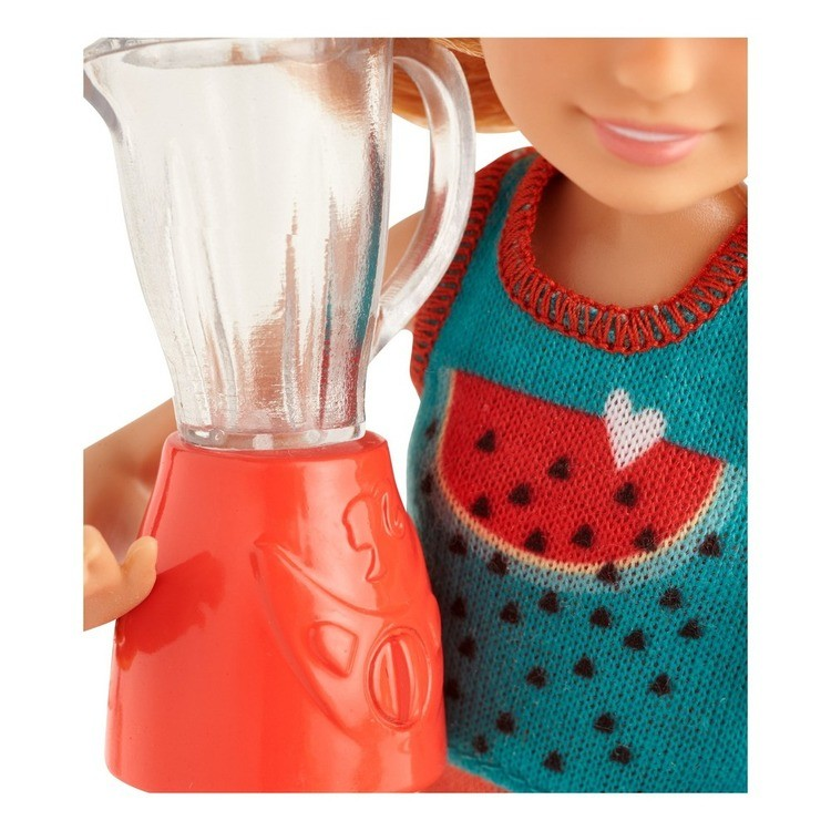 competitive Barbie Sisters Stacie Doll and Smoothie Accessory Set reasonable cheap