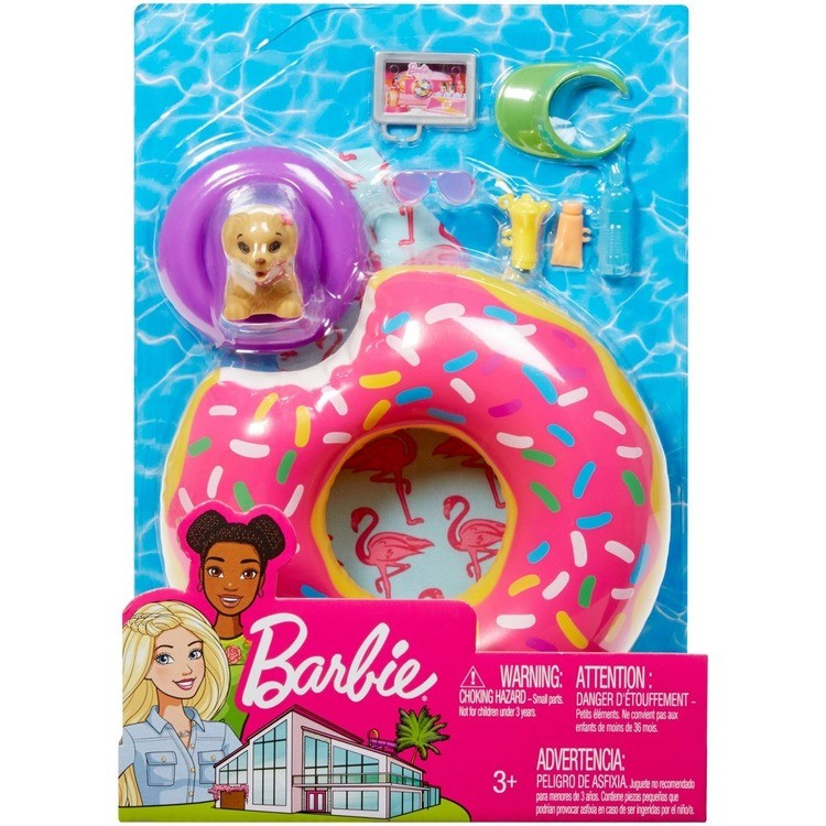 competitive Barbie Donut Floaty Accessory reasonable cheap