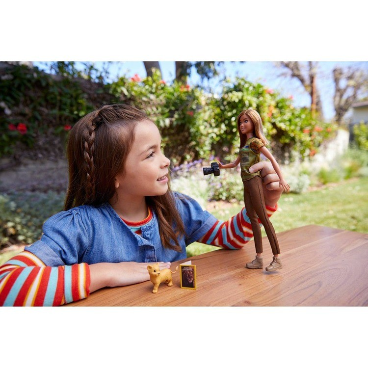 competitive Barbie National Geographic Photographer Playset cheap reasonable