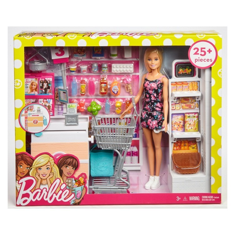 competitive Barbie Supermarket Playset reasonable cheap