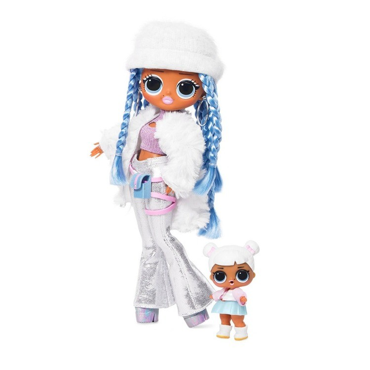 cheap L.O.L. Surprise! O.M.G. Winter Disco Snowlicious Fashion Doll & Sister reasonable competitive