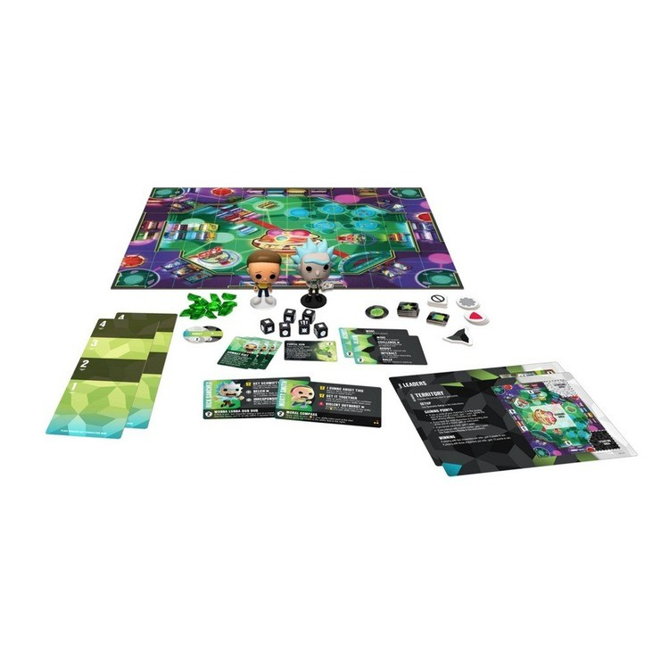reasonable Funkoverse Board Game: Rick and Morty #100 Expandalone, Adult Unisex competitive cheap