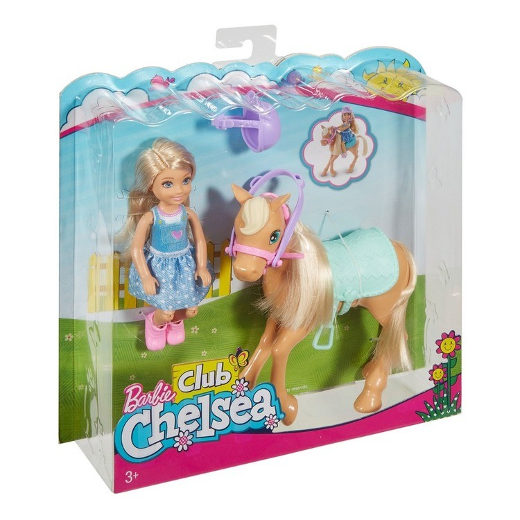 reasonable Barbie Chelsea Doll & Pony Playset competitive cheap