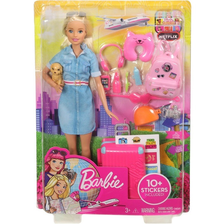 competitive Barbie Travel Doll & Puppy Playset reasonable cheap