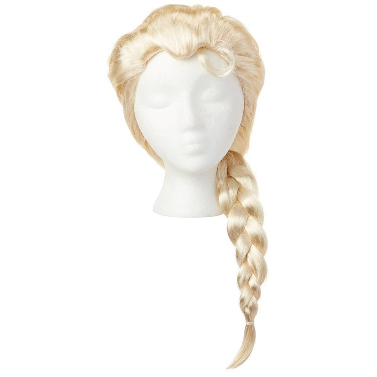 reasonable Disney Frozen 2 Elsa Wig, Yellow cheap competitive