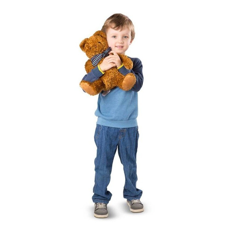 cheap Melissa & Doug Chestnut - Classic Teddy Bear Stuffed Animal competitive reasonable
