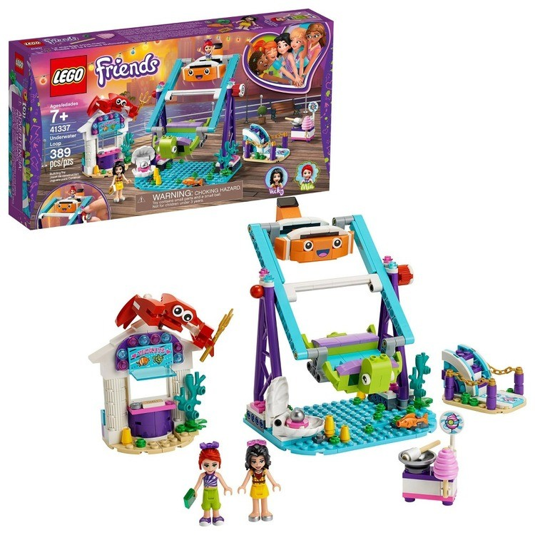 cheap LEGO Friends Underwater Loop 41337 Amusement Park Building Kit with Mini Dolls for Group Play 389pc competitive reasonable