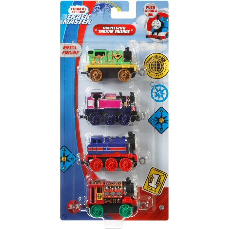 competitive Fisher-Price Thomas & Friends Around the World Push Along 4pk reasonable cheap