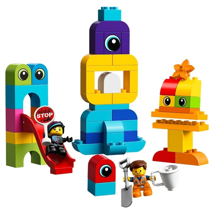 cheap THE LEGO MOVIE 2 Emmet and Lucy's Visitors from the DUPLO 10895 competitive reasonable