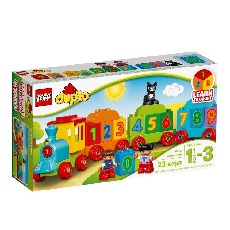 reasonable LEGO DUPLO My First Number Train 10847 competitive cheap