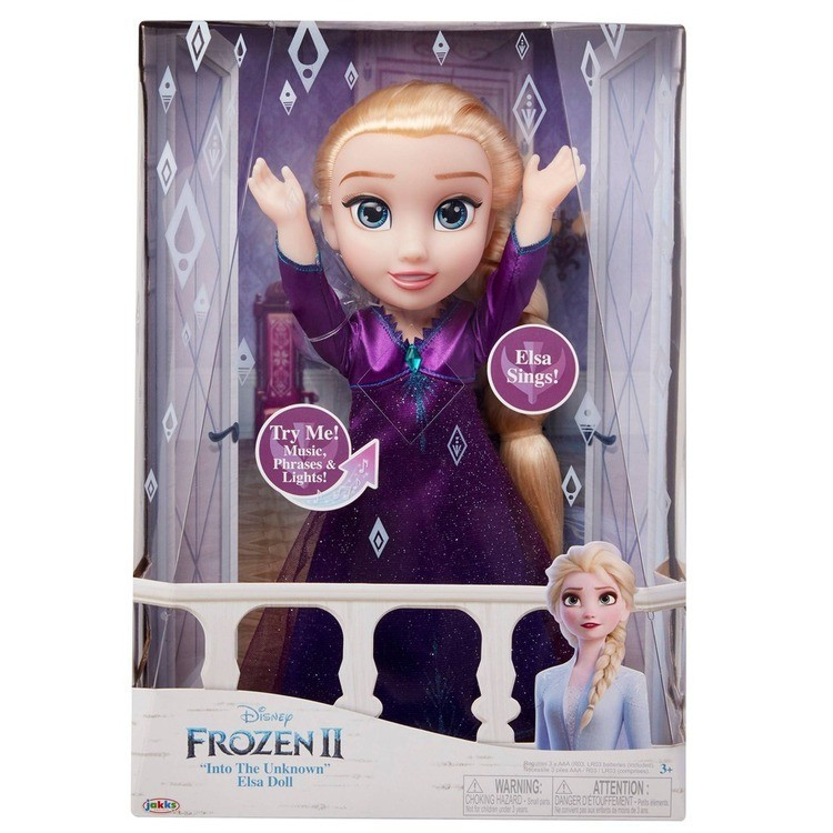 reasonable Disney Frozen 2 Into The Unknown Singing Feature Elsa Doll competitive cheap